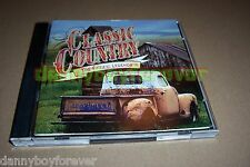 Time Life Classic Country The Fifties 50s Legends 2 CD 30 songs USA Made in 1999