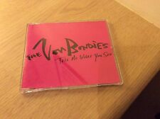 The Von Bondies 'Tell Me What You See' CD Single 1 Track Promo 2002