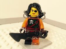 Lego Ninjago Skybound 70602 70593 Cyren Pirate Mini Figure Minifig NEW