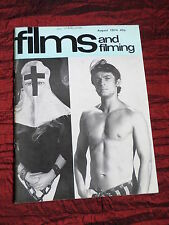 FILMS AND FILMING - UK MOVIE MAGAZINE - AUG 1974- ARTHUR HILLER -THE ODESSA FILE