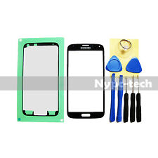 Black Replacement Screen Glass Lens Kit For Samsung Galaxy S5 SM-G900V SM-G900A