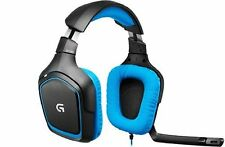 Logitech G430 Gaming Gamer Headset Sound Surround PC & PS4  //  S.G.