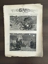 """""""THE GRAPHIC"""" (A Beautifully Illustrated British Weekly Newspaper)-Feb. 12, 1881"""