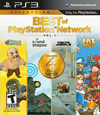 PS 3 Best of PSN VOL .1 Fat Princess | Tokyo Jungle | Sound Shape | Vikings |