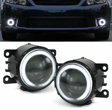 PROJECTOR FOG LIGHTS WITH CCFL RINGS FOR VAUXHALL ASTRA G H CORSA D TIGRA B