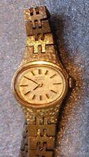 Lady Seiko gold plated quartz wristwatch