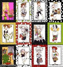 Loralie Sew Fabulous Panel Patchwork Stoffe Patchworkstoffe Baumwolle Nähen Mode