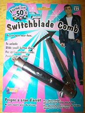 NEW 50's Switch Blade Switchblade Comb 1950's Greaser T Birds  Sock Hop Knife