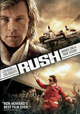 Rush (DVD, 2014) Brand New