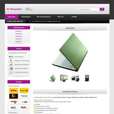 eBay Auktionsvorlage | Vorlage | Design Shop Vorlage | HTML Template | Lila
