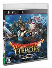 Dragon Quest Heroes Square Enix Action RPG Japan Import PS3 Japanese Game Used