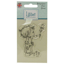 LILLIBET CLEAR STAMPS - FLOWER  GREAT FOR CARDS AND CRAFTS