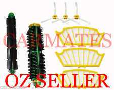 Brushes 3X Filters 3 armed side brushes for iRobot Roomba 510 530 531 560 570 OZ