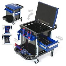 WORKPRO 136PC Handtool Set Roller Seat Sockets Bits Wrench Home Repair Tool Kit