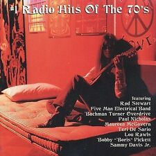#1 Radio Hits of the 70's by Various Artists (CD, Apr-1998, Rebound Records)