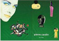 PUBLICITE  ADVERTISING  1994  PIERRE CARDIN   cosmétiques & parfums (2 pages)