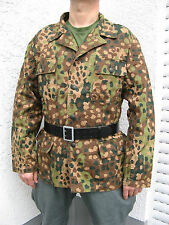 "WWII German WH Elite Field blouse M44 dot pea Camo camo jacket  camo tunic ""M"""