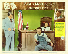 To Kill A Mockingbird Movie Poster 11x14 F Gregory Peck Brock Peters Phillip