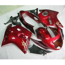 Red INJECTION Fairing Kit For Honda CBR1100XX Blackbird 1996-2007 98 99 00 01 02