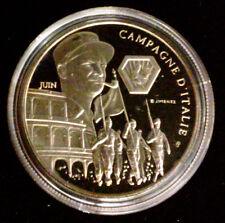 Médaille Seconde Guerre Mondiale 39-45 - Campagne d'Italie - Croix de Lorraine