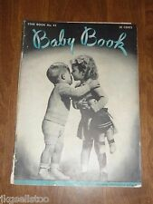 VINTAGE 1946 CROCHET/KNITTING PATTERN BOOK by STAR #43 *BABY BOOK*