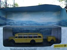 1:43  Schuco (Germany) Mercedes  Benz O 6600 bus Germany post