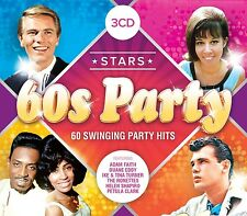 STARS OF 60S PARTY feat. Chubby Checker, The Drifters u.a. 3 CD NEW+