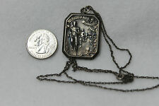 ANTIQUE PROVIDENCE ATHLETIC CLUB CROSS COUNTRY STERLING MEDAL W J LALLY 1911