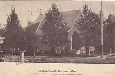 BOZEMAN , Montana ; PU-1911 ; Christian Church