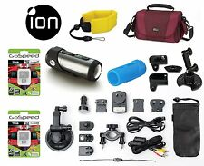 iON Speed Pro 14MP 1080p Full HD Action Camera with Automotive and Bike Mounts
