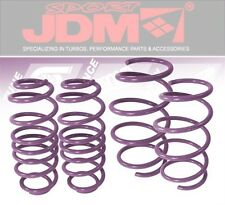 JDM SPORT 04-06 SCION XB SUSPENSION LOWERING SPRING LOWER COIL KIT DROP PURPLE