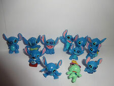 STITCH FROM LILO AND STITCH CUPCAKE TOPPERS 12 FIGURES BRAND NEW FREE P+P