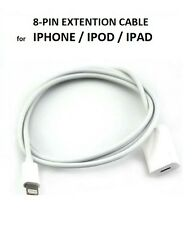 8Pin Lightning Extender Extension Data Cable for  iPod iPhone 5 6 Plus iPad Mini