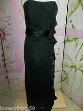 David's Bridal Black Strapless Dress, Special Occasion, Fully Lined, Size 20