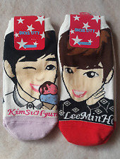 KIM SOOHYUN/LEE MIN HO MINHO SOCKS 2pairs_KOREA K POP GOODIESGOODS_made in Korea