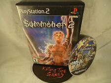 Summoner 2 (Sony PlayStation 2, 2002) DISK AND CASE-NO MANUAL TESTED, USA SELLER