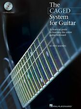 Pete Madsen The CAGED System For Guitar Learn to Play TAB Music Book & CD