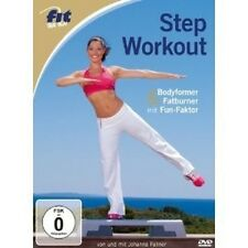 JOHANNA/NEMETH,TONI FELLNER - FIT FOR FUN-STEP WORKOUT  DVD NEU