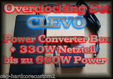 POWER DUAL CONVERTER BOX ✔ ADAPTER AC 330W ✔ CLEVO ✔