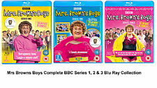 MRS BROWNS BOYS COMPLETE SERIES BLU RAY + EXTRAS Season 1 2 3 COLLECTION UK NEW