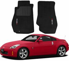 Genuine Nismo Black Carpeted Floor Mats For 2003-2009 Nissan 350Z New Free Ship