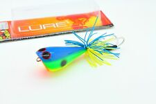 Jumping Frog 5.5 cm HAND MADE TOPWATER WOOD FISHING . Premium Quality lure wood
