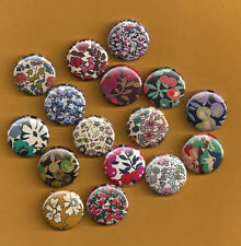 Liberty of London Fabric 16 Magnet Assortment - Magnabilities Compatible Inserts