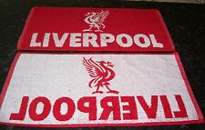 LIVERPOOL F.C. Official Bar Towel 100% Cotton FREE POST UK