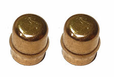 10mm Solder Ring Stop End Cap | Capillary Fitting For Copper Pipe | 2 Pack