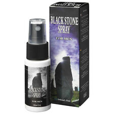 sexy shop per lui lubrificante SPRAY 15 ML RITARDANTE BLACK STONE COBECO PHARMA