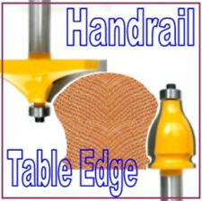 "2 pc 1/2"" SH Handrail & Table Edge Router Bit Set sct-888"