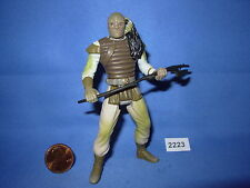"""Star Wars 2006 WEEQUAY SKIFF GUARD Battle Above the Sarlacc  BP  3.75""""  COMPLETE"""