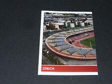 N°34 LETZIGRUND STADION ZÜRICH P1 SUISSE SCHWEIZ PANINI FOOTBALL UEFA EURO 2008