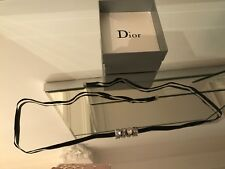 100% STUNNING GENUINE DIOR CHOKER NECKLACE RRP  £190, BARGAIN  STARTING PRICE